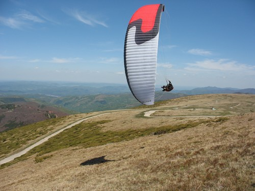 Paragliding Bulharsko