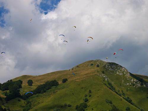 Paraglading Slovinsko