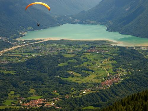 Paraglading Itálie