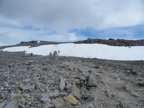 Skotsko hory a sníh