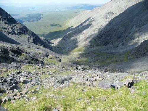 Skotsko horský průsmyk