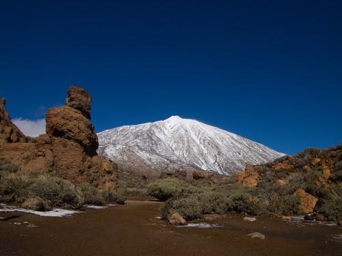 Hory na Tenerife a lávová krajina