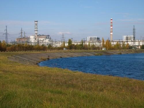 Nedostavěný blok jaderné elektrárny