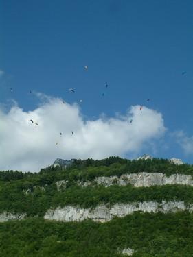 Paraglading - Francie 2007