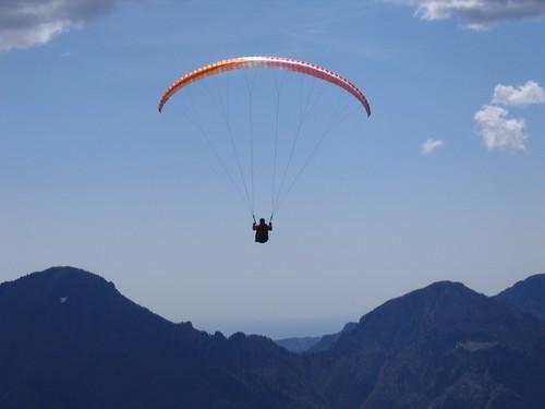 Paragliding Italie 2008
