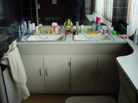 zasla slava koupelny