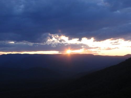 Zapad slunce v MORTRON N.P: