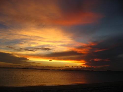 Zapad slunce na Keppelu