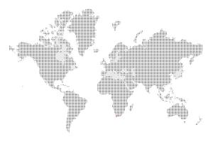 Interaktivní mapa článků